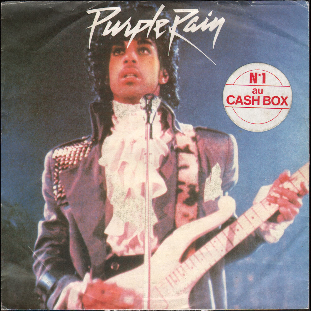 Purple Rain - Sticker